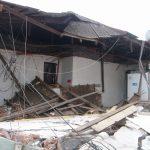 Efectos del terremoto en dependencias de COALIVI. Vista interior.