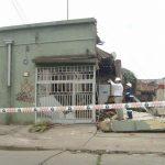 Efectos del terremoto en dependencias de COALIVI. Vista por Aníbal Pinto.