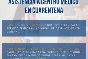 ASISTENCIA A C.M. EN CUARENTENA